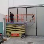 Pulizia porte industriali a Brescia