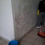 Pulizia muri a Brescia